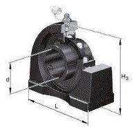 UCPA202 FAG 15mm Pillow Block Bearing - Black Seri...