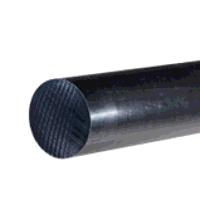 UHMWPE Black Rod 60mm dia x 250mm