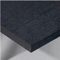 UHMWPE Black Sheet 500 x 500 x 45mm