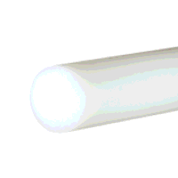 UHMWPE Natural Rod 45mm dia x 500mm