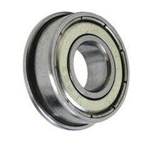 WMF52-2Z Flanged Stainless Steel Shielded Miniatur...