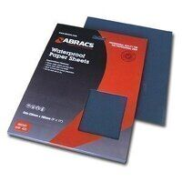 ABWD2000 230mm x 280mm x 2000 Grit Waterproof Paper Sheet (Pack of 25)