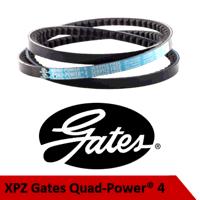 XPZ637/3VX252 Gates Quadpower4 Cogged V ...