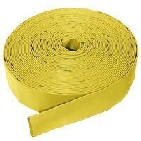 YLH4 4inch ID Yellow Layflat Delivery Hose 100mtr