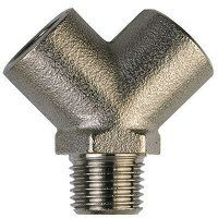 XO-13 1/4inch BSP Y Connector Male Inlet Threaded ...