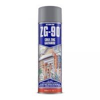 ZG-90 Cold Zinc Galvanising Spray Silver Bright 500ml