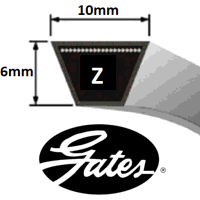Z Section Gates Hi-Power V Belt