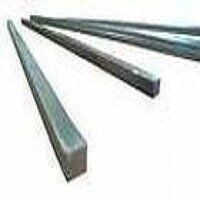 12X8mm Rectangle  Key Steel