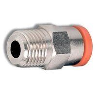 2L01C07 6mm to 1/8 BSPT Male Tapered Stud