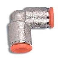 2L04001 4mm Push in Equal Elbow