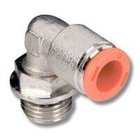 2L31009 6mm to 1/4 BSPT Male Stud Swivel Elbow