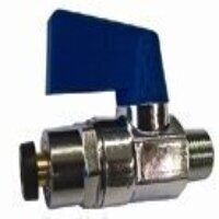 826100300 1/8inch to 6mm Mini-Ball Valve...
