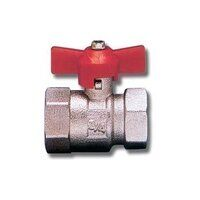 T Handle Full Flow Ball Valve Female/Female