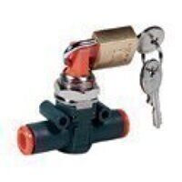 Inline Shut Off Valve Lockable - Tube To Tube