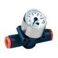9067016 6mm Inline Pressure Gauge-Tube To Tube