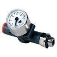 Inline Pressure Gauge - Thread To Tube
