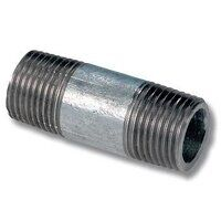 GBN14 1/4inch BSP Galvanised Fitting Equal Barrel ...