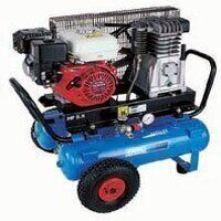 Petrol Engine Driven Compressor 5.5HP 100ltr
