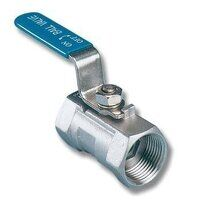 BVSS1 1inch Stainless Steel One Piece Ball Valve R...