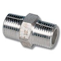 1/4inch Stainless Steel Equal Hexagon Ni...