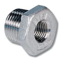 1/2x1/4inch Stainless Steel Reducing Bush (SSRB121...