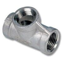 1/4inch Stainless Steel Equal Female Tee (SSFT14)
