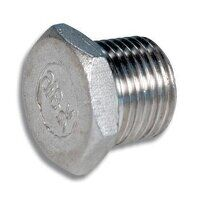 1/2inch Stainless Steel Hexagon Blanking Plug (HP0...
