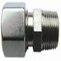 6mm x 1/4 inch BSPT Male Stud Coupling Tapered