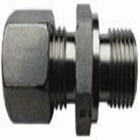 6mm x G3/8 inch BSP Male Stud Coupling Parallel