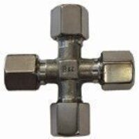 15mm Stainless Steel Equal Cross PN 250