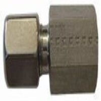 6mm  x 1/4 inch Female Stud Coupling - Parallel