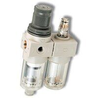 Miniature Filter Regulator and Lubricator Sets