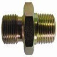 Hydraulic Adapters - BSPP Male x BSPT Male Connector