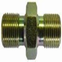 HBPN38 3/8inch x 3/8inch BSPP Equal Male x Male Co...