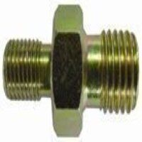 HBPN1438 1/4inch x 3/8inch BSPP Male x Male Unequal Connector