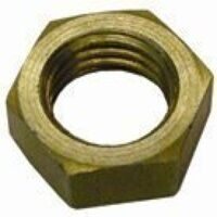 HLN38 3/8inch BSPP Lock Nut to Suit Bulkhead Conne...