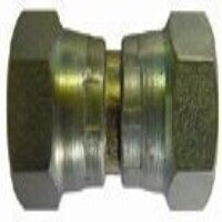 HSSFF12 1/2inch BSPP Female x Female Equal Straigh...