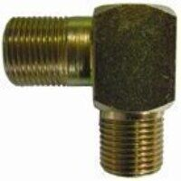 HMEE14 1/4inch BSPP Male x Male Equal Elbow