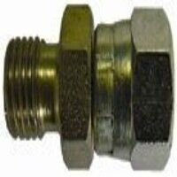HSSMF3814 3/8inch x 1/4inch BSPP Male x Female Str...