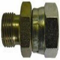 HSSMF1212 1/2inch x 1/2inch BSPP Male x Female Str...