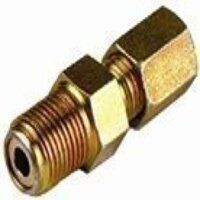 AP6-L/R1/8 6mm x G1/8inch Male Stud Coupling BSPT
