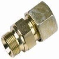 A15-L/R3/8-FORM-A/60 15mm x G3/8inch Male Stud Coupling BSPP Cone Seat - Light Duty