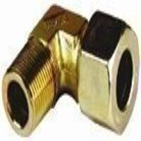 B16-RS 16mm x G1/2inch Male Stud Elbow BSPT - Heav...