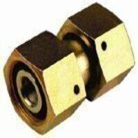 EDKO6-L 6mm Straight Female Connector with Taper -...