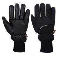 Thermal Grip Glove - Latex (OrBk / Large / B)
