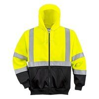 High Visibility Sweatshirt Range 65% Polyester 35% Cotton
