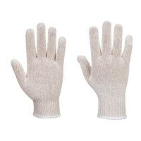 String Knit Liner Gloves (300 Pairs) (White / XL /...