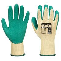Grip Glove - Latex (Green / Large / R)