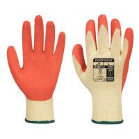 Grip Glove - Latex (Orange / Large / R)