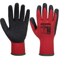 Grip Glove - Latex (RedBk / Large / R)
